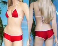 Bikini Nayeli Full Top a triangolo + boy short