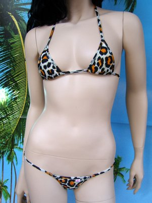 bikini Desiree leopardato