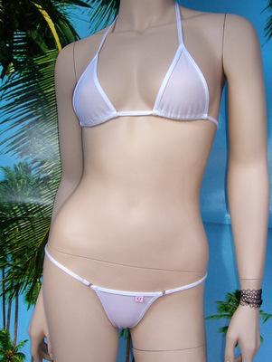 bikini N5 bianco