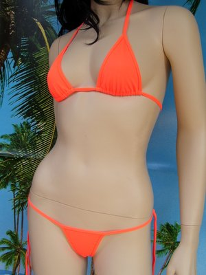 bikini N6 arancione