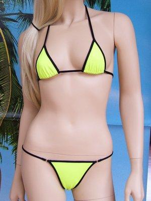 bikini Ramona giallo nero