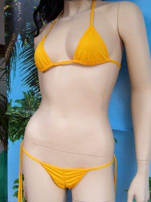 bikini Wanda giallo