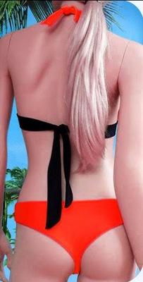 bikini segno Ariete posteriore