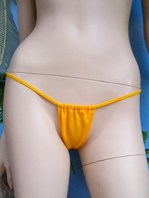string regolabile giallo